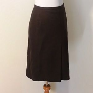 Kenneth Cole Brown Skirt